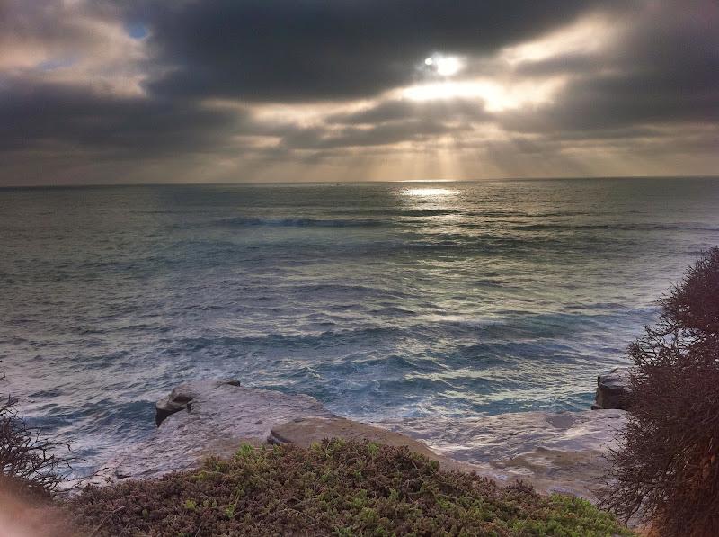 Photo: La jolla sunset