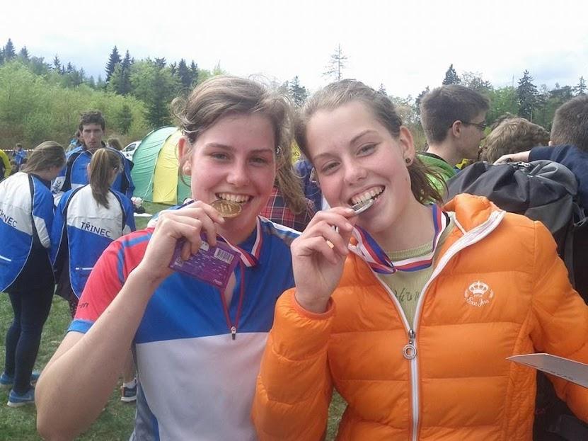 medaile z mistrovství