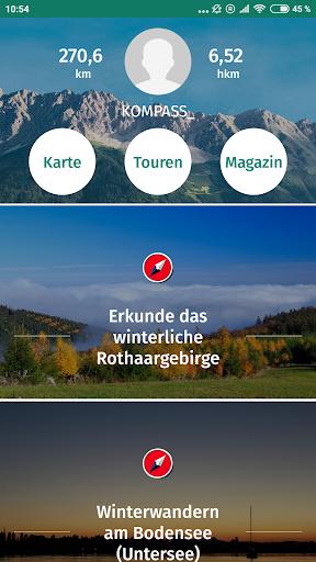 KOMPASS Wanderkarte 2.1 app download 1