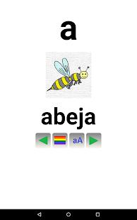 Abecedario para niños  Español - screenshot thumbnail