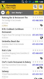 Grenada Yellow Pages- screenshot thumbnail
