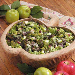Apple Lettuce Salad.