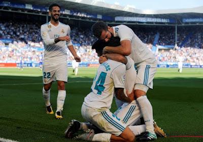Le Real Madrid évite le faux pas à Alavès