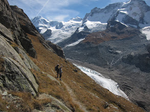 Photo: A side trail leads to one last glimpse of the glacier.