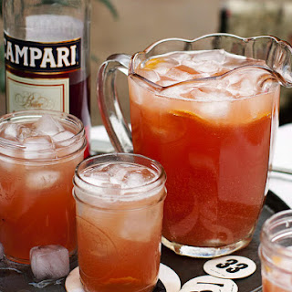 Campari Summer Blush Cocktail.
