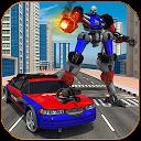 Police Transform Robot Chase: Robot Transform Game APK