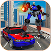Transformer Robot Chase Police