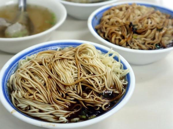 文昌路炸醬麵~份量足 味香醬濃的炸醬麵/餛飩丸子湯