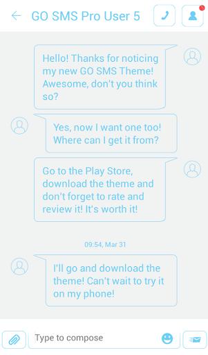 無料个人化AppのGO SMS Proのホワイト|記事Game