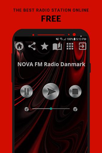 NOVA FM Radio Danmark App DK Free Online 1.3 screenshots 1