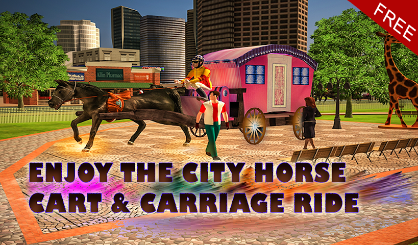 android Horse Carriage Transport Drive Screenshot 12