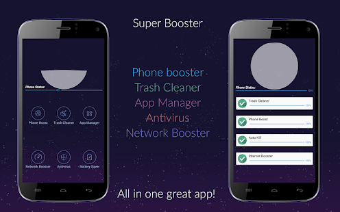 Super Booster Pro Screenshot