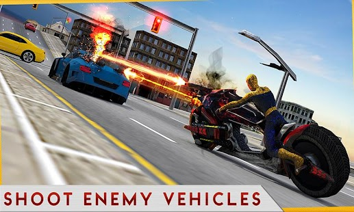 Moto Spider Traffic Hero - náhled