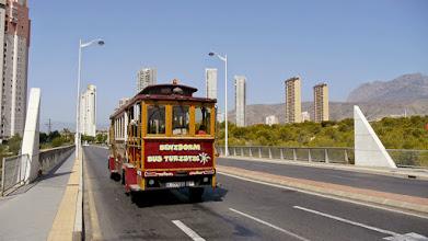 Photo: Benidorm Tourist Bus.