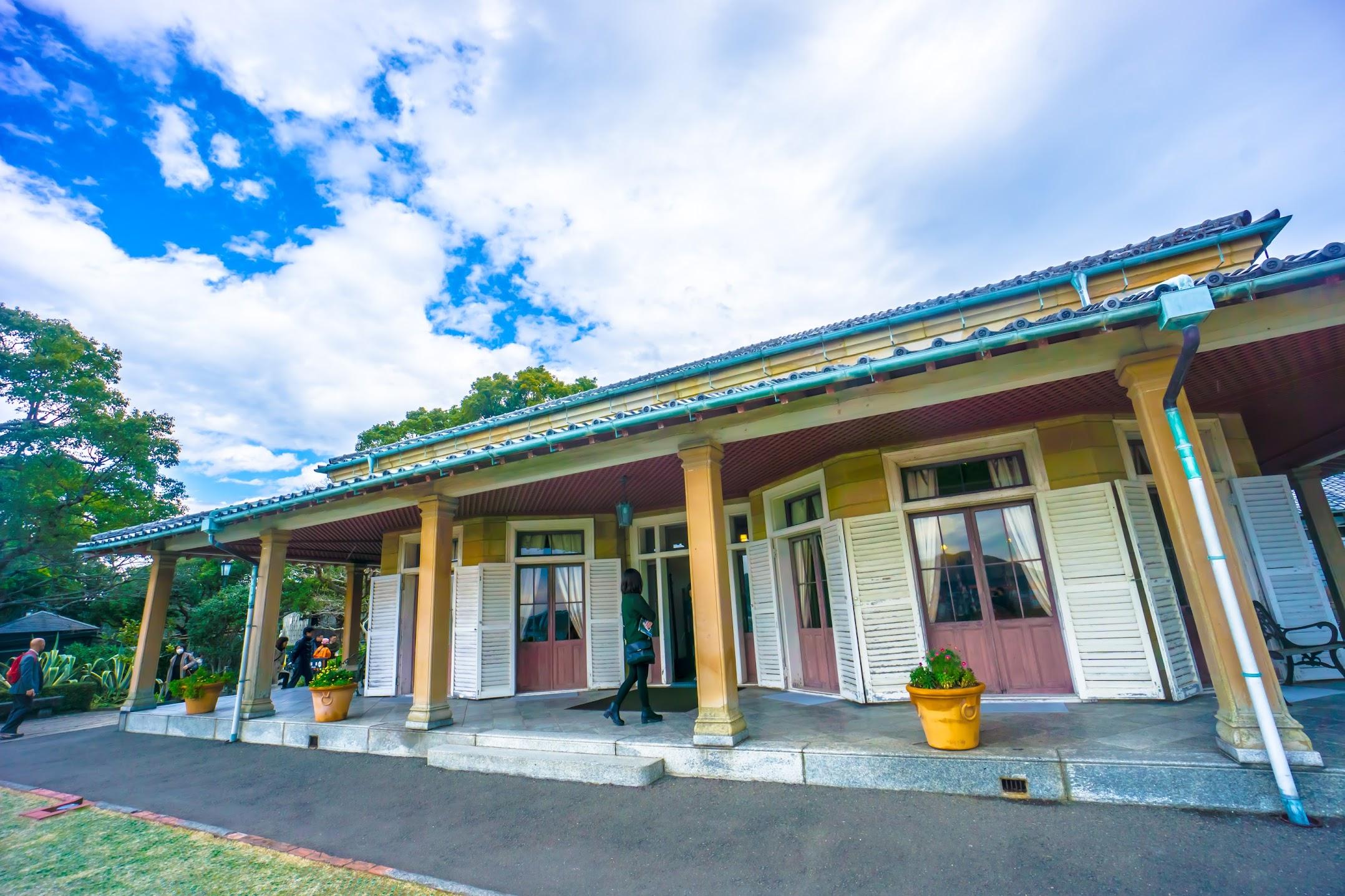 Nagasaki Glover Garden Former Ringer House1