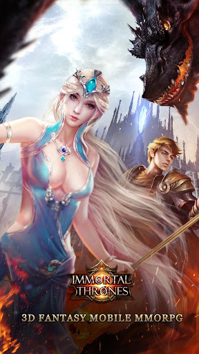Immortal Thrones-3D Fantasy Mobile MMORPG  screenshots 1