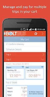 BoltBus Screenshot 2