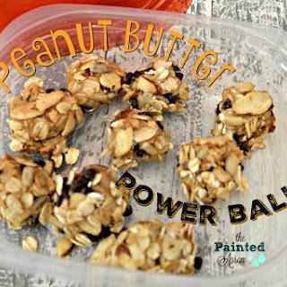 Peanut Butter Power Balls.