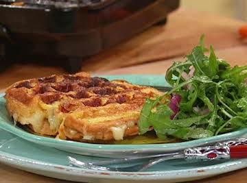 Monte Cristo Waffle- Sandwiches