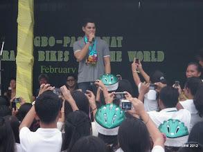 Photo: Richard Gutierrez host of Survivor in the Philippines