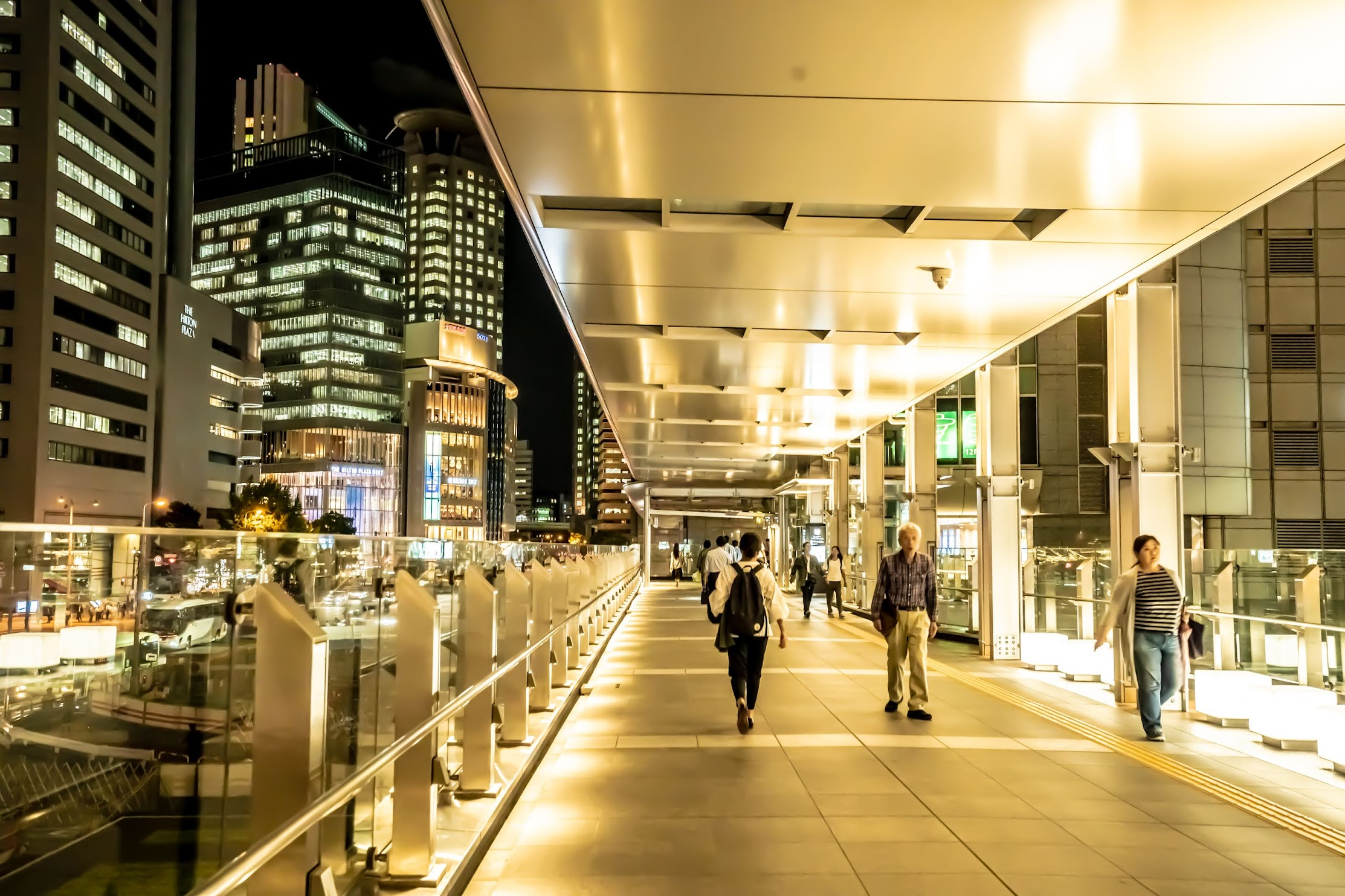 JR Osaka station2