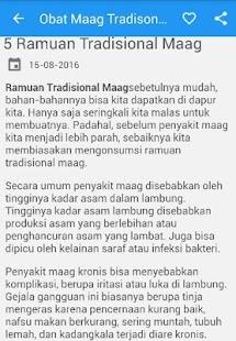 Obat Maag Tradisonal Alami - náhled
