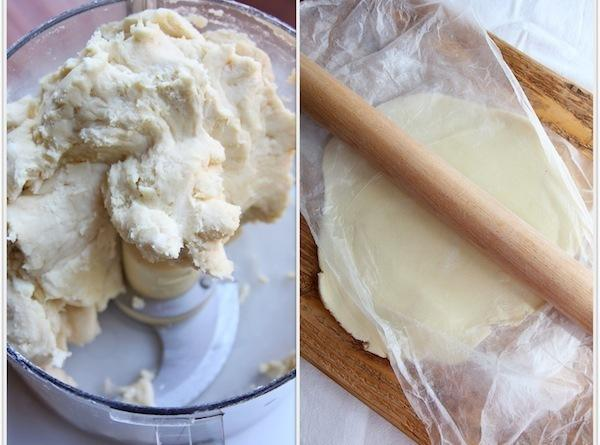 Make Pie crust first.Place flour and sugar in a food processor.  Pulse. ...