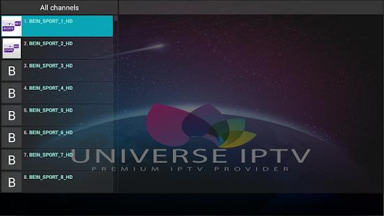 Universe TV - náhled