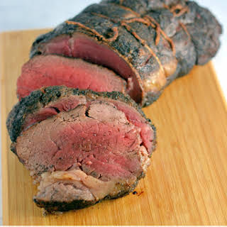 Coffee Crusted Beef Tenderloin.