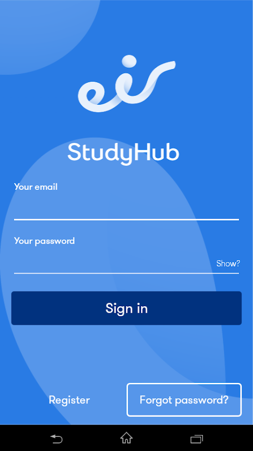 eir StudyHub- screenshot