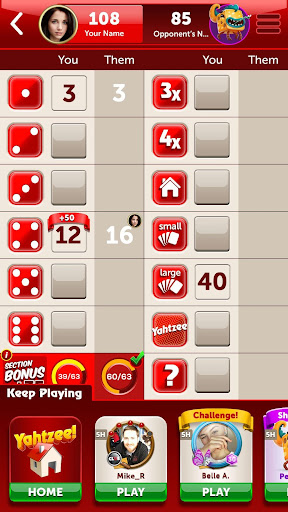 New YAHTZEE® With Buddies game (apk) free download for Android/PC/Windows screenshot