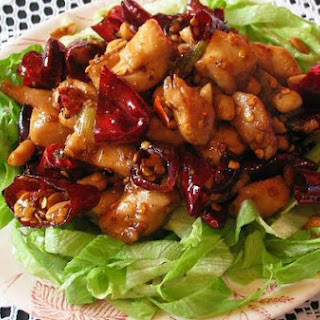Diced Chicken With Chillies And Nuts / 辣子鸡丁