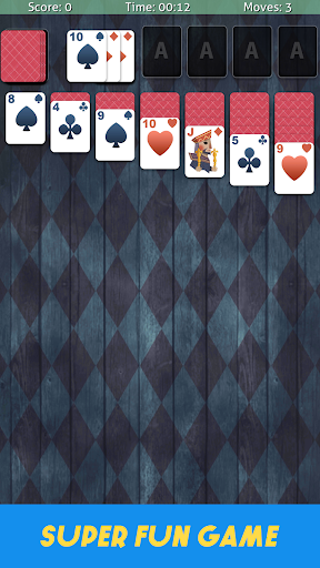 Solitaire Classic Cardgame - Free Poker Games screenshots 2