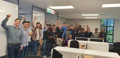 DVT's 2019 developer graduates.