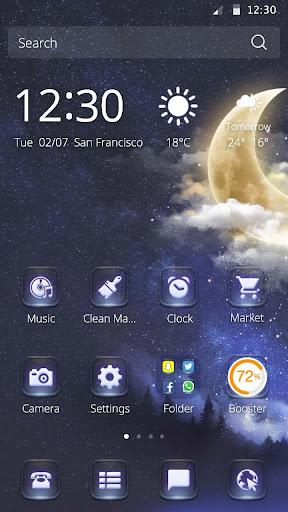 月光のテーマ(明るい月)|玩個人化App免費|玩APPs