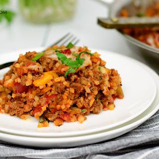 Low Carb Cauliflower Lasagna!.