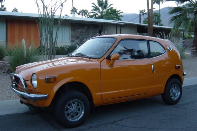 1972 Honda Z600 Hire CA
