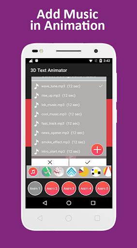 3D Text Animation - Logo Animation, 3D Intro Maker 1.2 screenshots 14