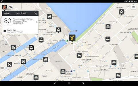 mytaxi – The Taxi App screenshot 11