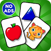Flashcards Game for Toddlers & Preschool Kids