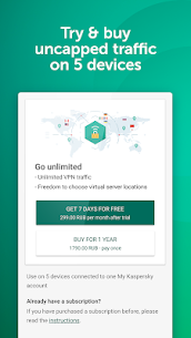 Fast VPN & Proxy – Kaspersky Secure Connection 6