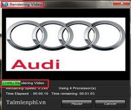 Quá trình xuất video