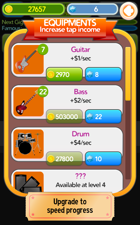 Band Clicker Tycoon- screenshot