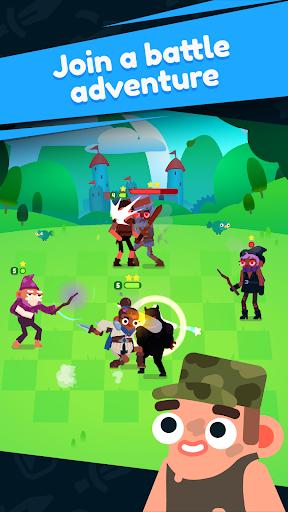 Heroes Battle: Auto-battler RPG  captures d'écran 1