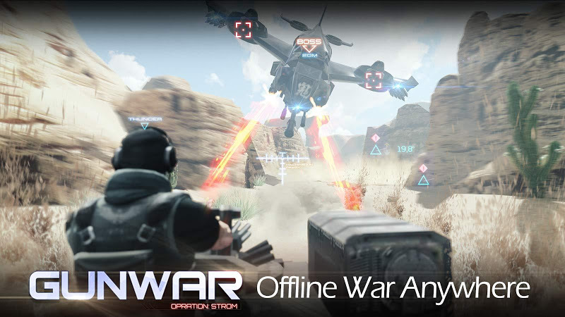 Gun War: SWAT Terrorist Strike v2.4.0 [Mod]