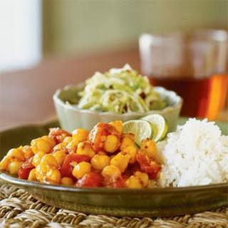 Garbanzo-Tomato Curry