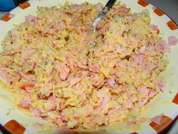 Salad is ready