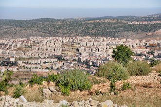 Photo: Betar Illit, the biggest of the surrouding settlements.