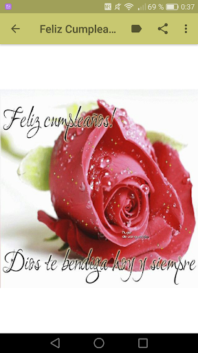 Feliz Cumpleanos Con Flores Apps On Google Play