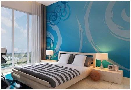 Inspirasi Lukisan Dinding Bilik Tidur Pera Lakaran Kecil Tangkapan Skrin